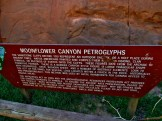 Moonflower Canyon Sign