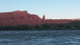 Fisher Towers from Onion Creek Camp on an Overnight Daily