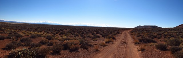 White Rim Road Panorama