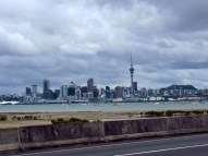 Auckland from the Highway while Hitching
