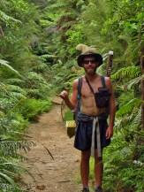 Quiet Earp in the Kaimai Ranges