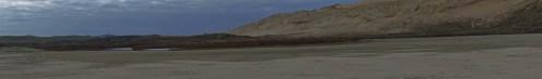 Te Werahi Stream on Herangi Hill Panorama
