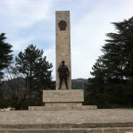 permet. Compare this to the graffiti'ed monuments in durres.