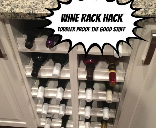 wine rack hack