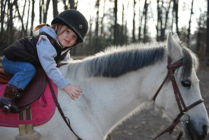 lily riding lesson