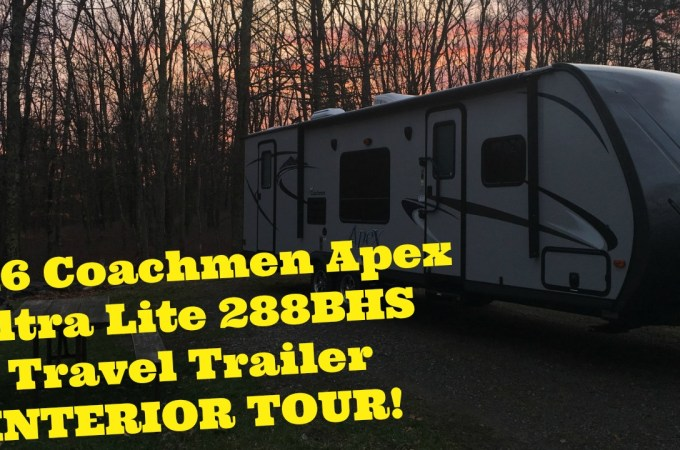 2016 Coachmen Apex Ultra Lite 288BHS Travel Trailer | INTERIOR TOUR