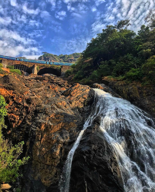 Dudhsagar Falls Visit 2018