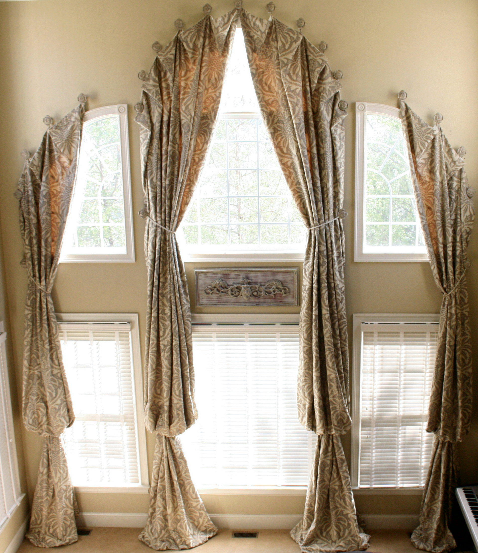 challenging arched windows