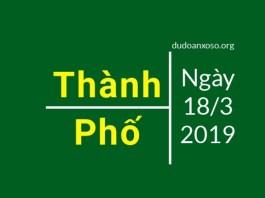 dự đoán xổ số thành phố hồ chí minh ngày 19/3/2019