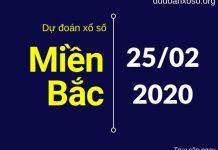 dự đoán xsmb 25/2/2020