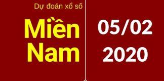 dự đoán xsmn 5/2/2020
