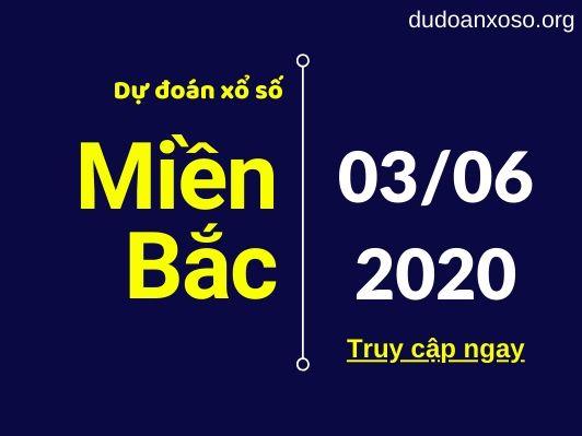 dự đoán xsmb 3/6/2020