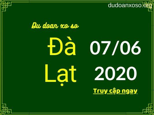 dự đoán xsdl 7/6/2020