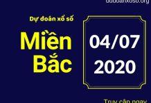 dự đoán xsmb 4/7/2020