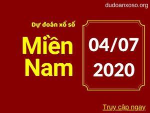 dự đoán xsmn 4/7/2020