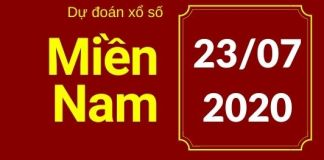 dự đoán xsmn 23/7/2020
