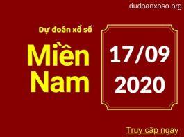 Dự đoan XSMN 17/9/2020