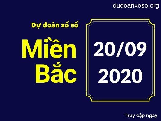 Dự đoán XSMB 20/9/2020