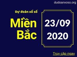 Dự đoán XSMB 23/9/2020