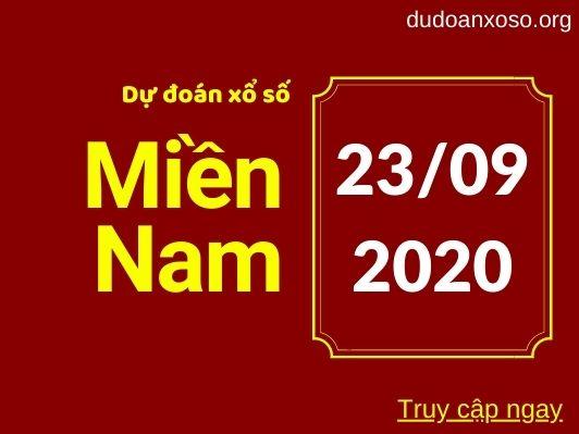 Dự đoán XSMN 23/9/2020