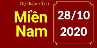 Dự đoán XSMB 28/10/2020