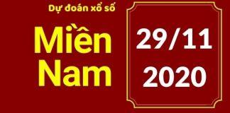 Dự đoán XSMN Wap 29/11/2020