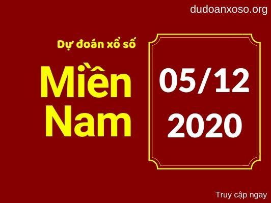 Dự đoán XSMN 5/12/2020