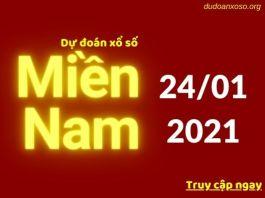 Dự đoán XSMN 24/1/2021