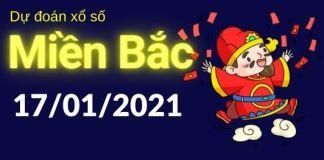 Dự đoán XSMB 17/1/2021