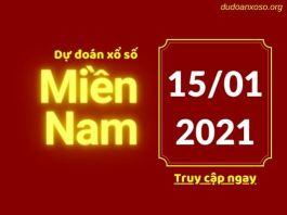 Dự đoán XSMN 15/1/2021