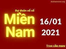 Dự đoán XSMN 16/1/2021