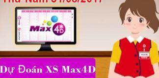 dự đoán xổ số max 4d