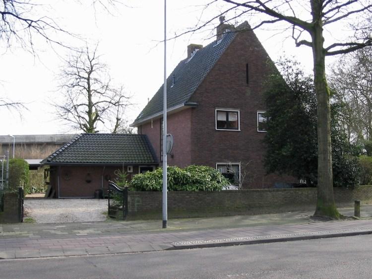 Woning bij gasfabriek Hilversum