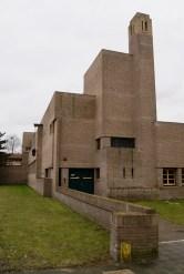 Bavinckschool, Bosdrift, Hilversum (1922), naar een ontwerp van Dudok. Foto Peter Veenendaal