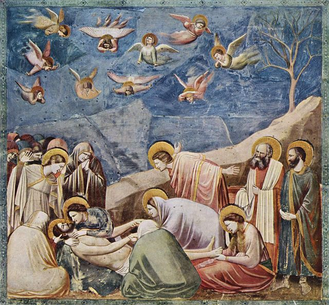 Giotto, Compianto sul Cristo morto