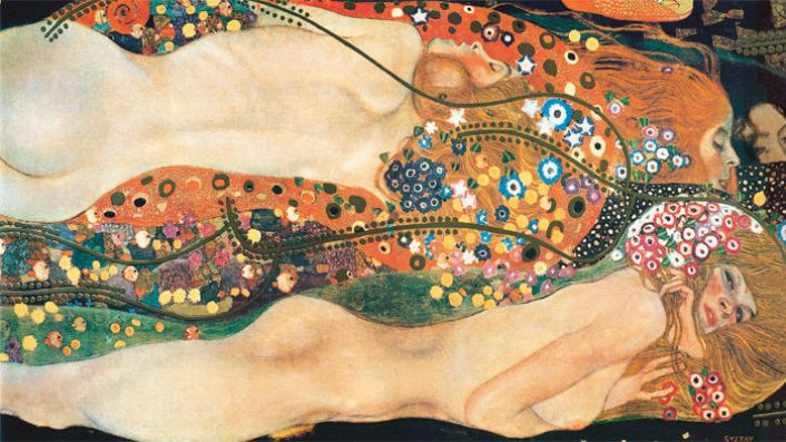 Klimt, Bisce d'acqua II