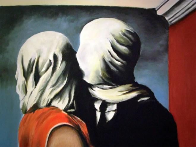 Magritte, Gli amanti