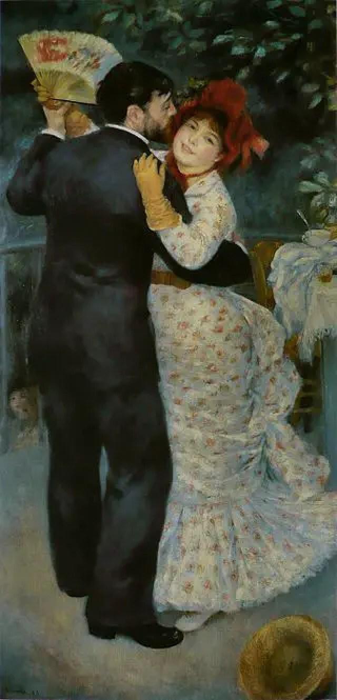 Renoir. Ballo in campagna