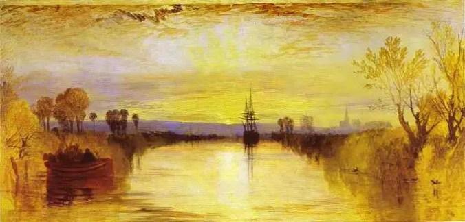 William Turner, Chichester canal,