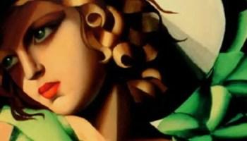 Tamara de Lempicka, Giovane fanciulla con i guanti