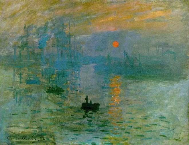 Cla ude Monet, Impression, soleil levant