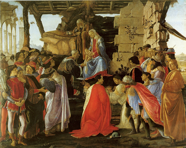Sandro Botticelli, Adorazione dei Magi