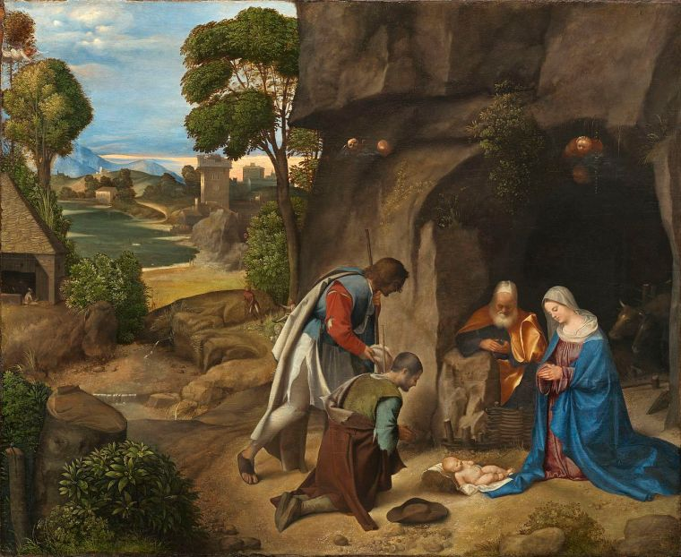 Giorgione_adorazione-pastori_natale_due-minuti-arte