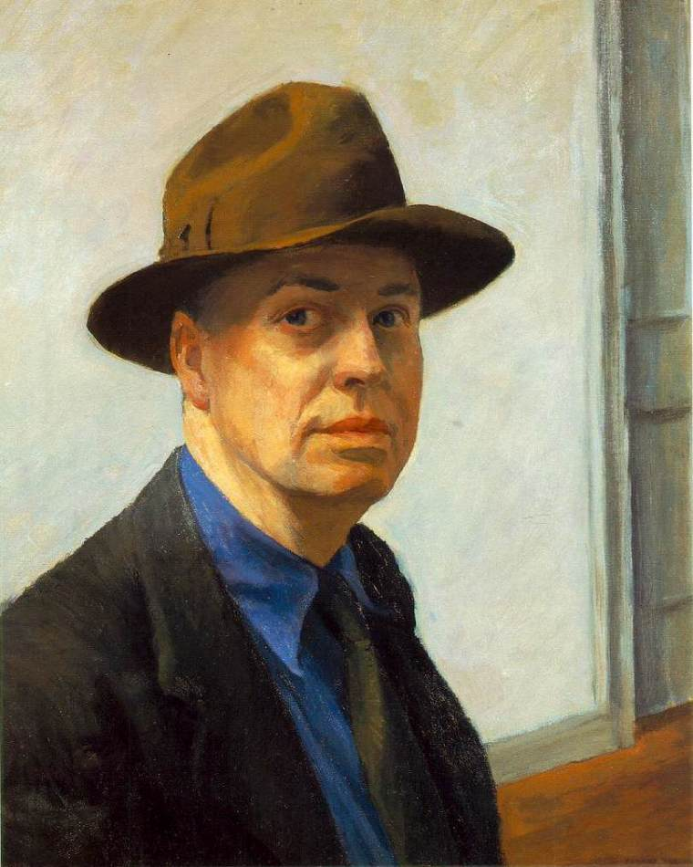 Edward_Hopper_autoritratto_vita_opere_due-minuti-di-arte