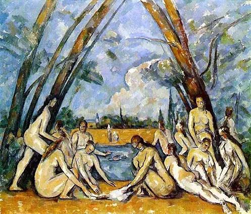 Paul Cézanne, Le grandi bagnanti, 1898-1905, Filadelfia, Museum of Art