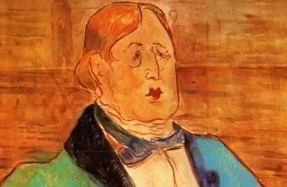 Toulouse Lautrec, Ritratto di Oscar Wilde, 1895