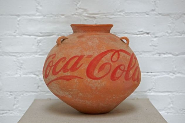 Ai Weiwei, Han Dinasty Urn with Coca Cola Logo