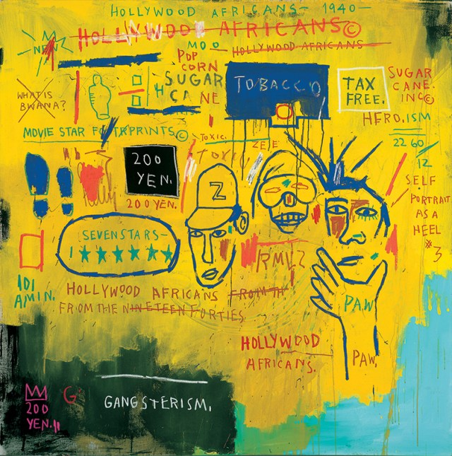 Jean-Michel Basquiat, Hollywood Africans, 1983