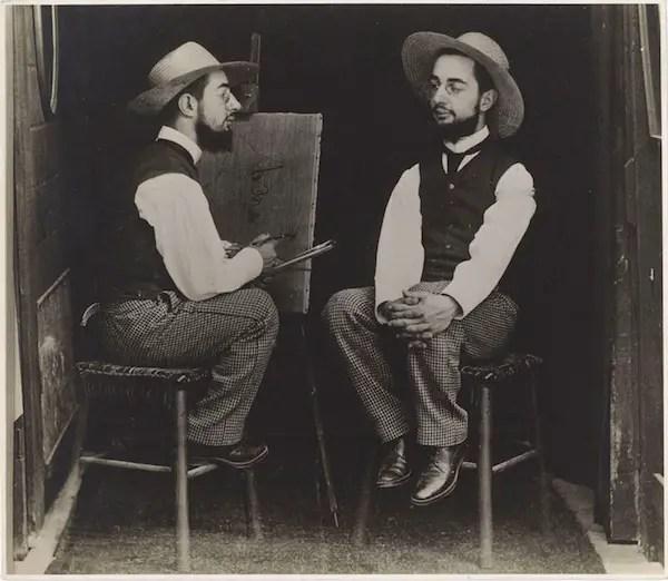 Toulouse_Lautrec_foto_Maurice_Guibert_mostra_milano_due-minuti-di-arte