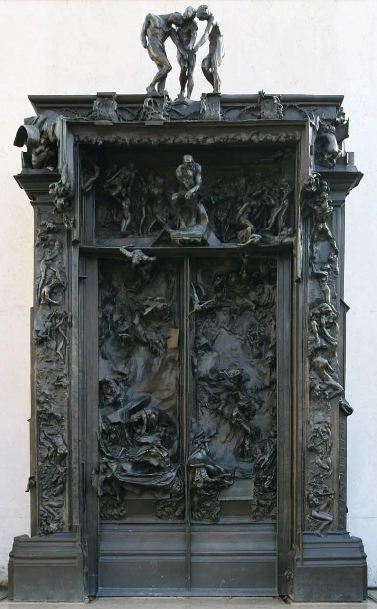 Auguste_Rodin_porta_inferno_vita-opere-riassunto_due-minuti-arte